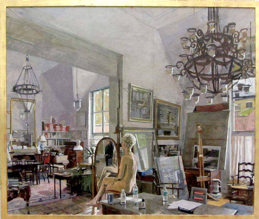 Ken Howard. Sarah at Oriel