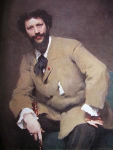 Carolus Duran Sargent's teacher in Paris 1879