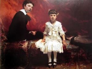 The Pailleron  Children 1881. 83 sittings!