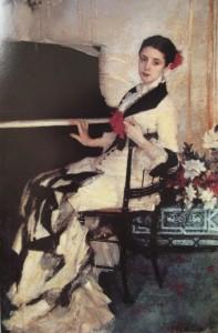 Madame Ramon Subercaseaux 1880. Paris Salon. Earns his place
