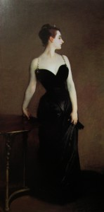 Madame X. Not shown. His favourite work caused a scandal in Paris