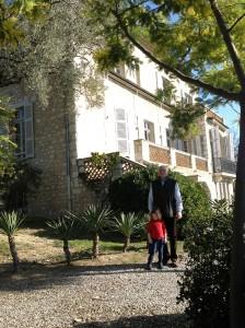Outside Renoir's House