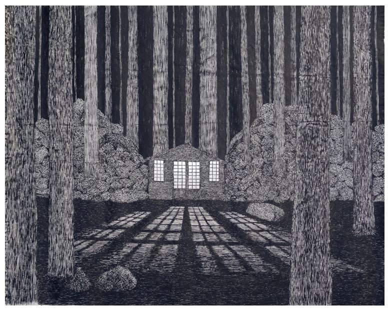 Kenji Lim. Homes in the Forest