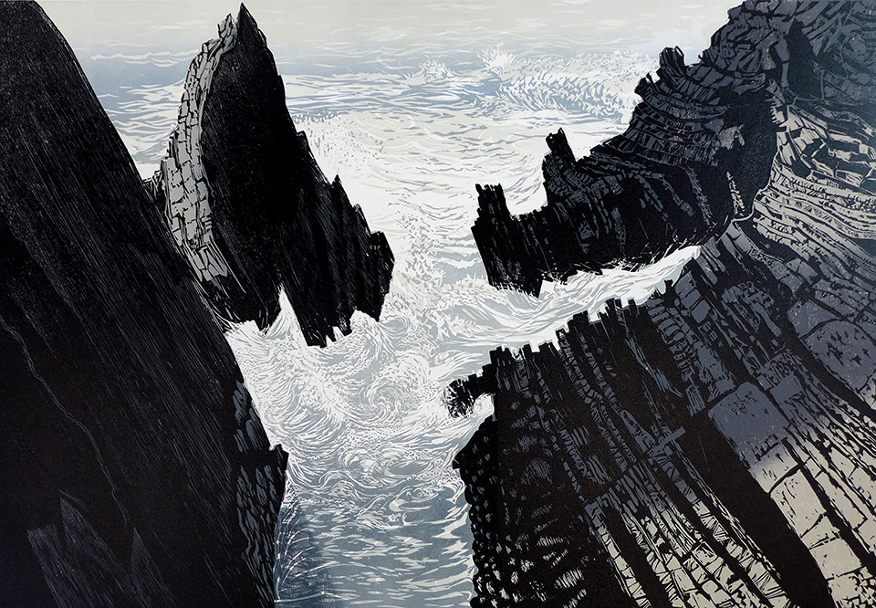 Pine Feroda. Sea Rocks