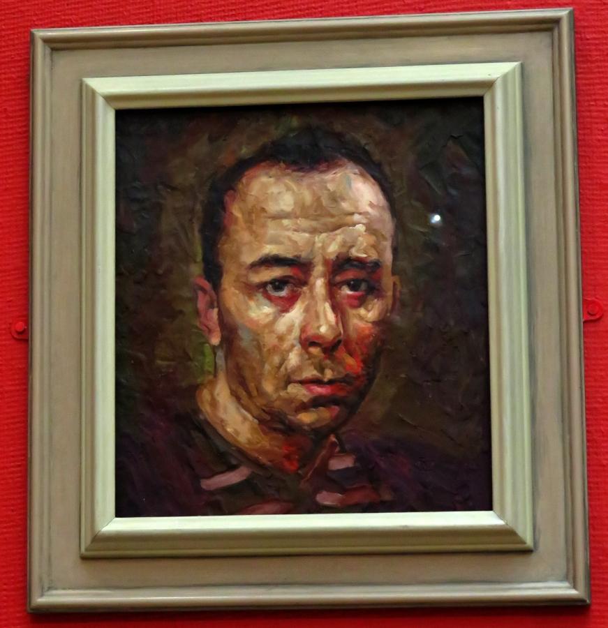 Vincent Bowen Plasticine Self-portrait